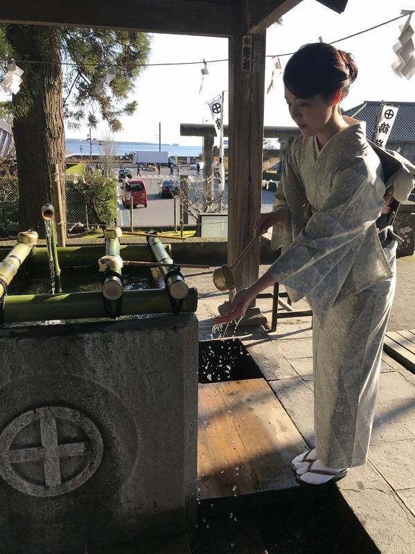 納屋通り・仙巌園新年振る舞い出務御報告/榎谷_c0315907_09550515.jpg