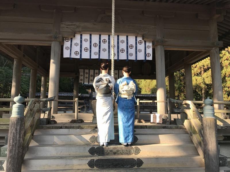 納屋通り・仙巌園新年振る舞い出務御報告/榎谷_c0315907_09552852.jpg