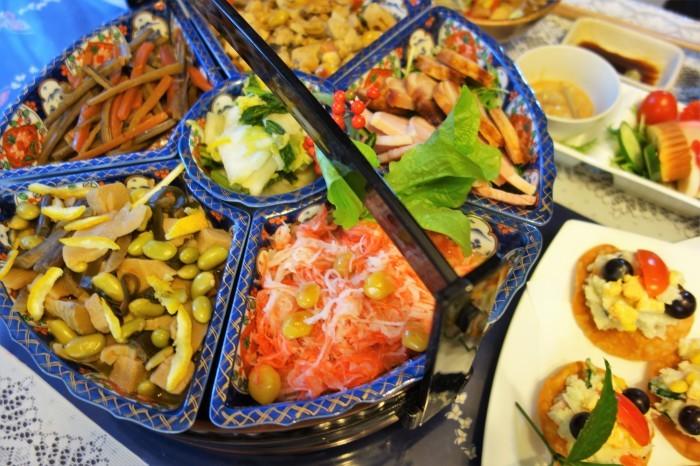 ■おもてなし料理【元旦の朝ご飯セット】作り置きで大助かりでした♪_b0033423_22550886.jpg