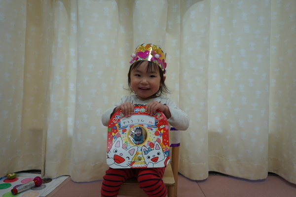 保育園 1月誕生日会&お正月遊び_a0166025_16043710.jpg