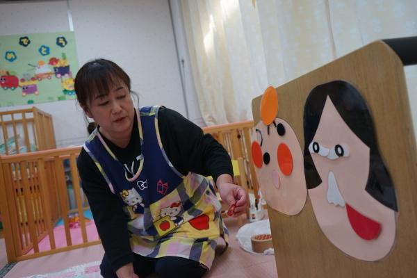 保育園 1月誕生日会&お正月遊び_a0166025_16060361.jpg