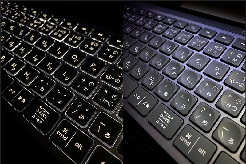 最初からコレにすればよかった Logicool MXKeys KX800ワイヤレスキーボードレビュー_d0262326_07104119.jpg