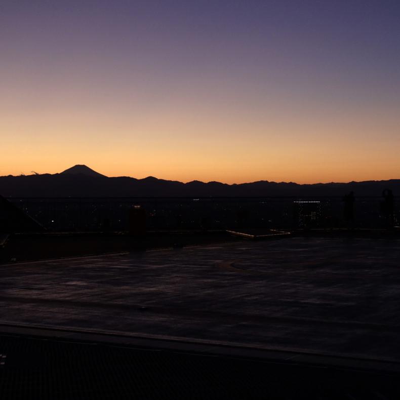 正月休みに六本木から富士山_c0060143_22452947.jpg