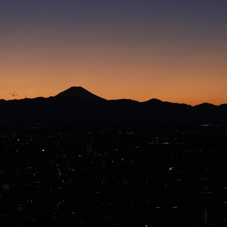 正月休みに六本木から富士山_c0060143_22470649.jpg