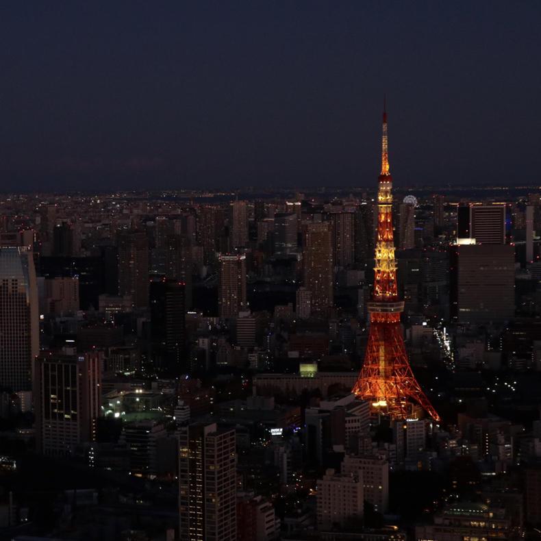正月休みに六本木から富士山_c0060143_22485059.jpg