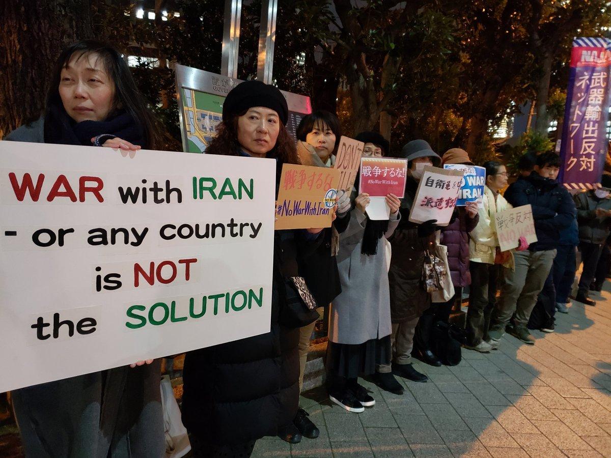 【速報】「米国はイランと戦争するな!安倍政権は平和外交を行え!1.6米国大使館&官邸前抗議_a0336146_23343518.jpg