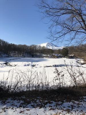 新年初照月湖_c0341450_13095570.jpg