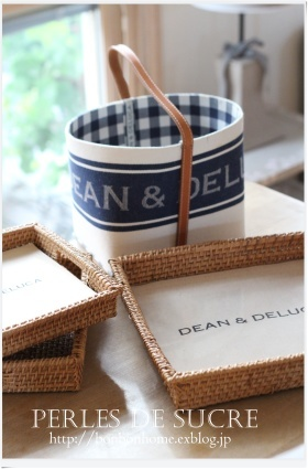 Dean&Deluca とカルトナージュ_f0199750_20490424.jpg