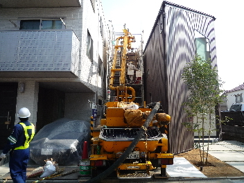 コンクリート打設の見学_a0394451_12372040.jpg