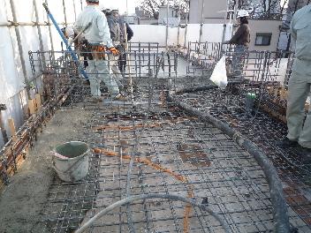 コンクリート打設の見学_a0394451_12372174.jpg