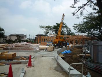 B工区の建て方_a0394451_20283356.jpg