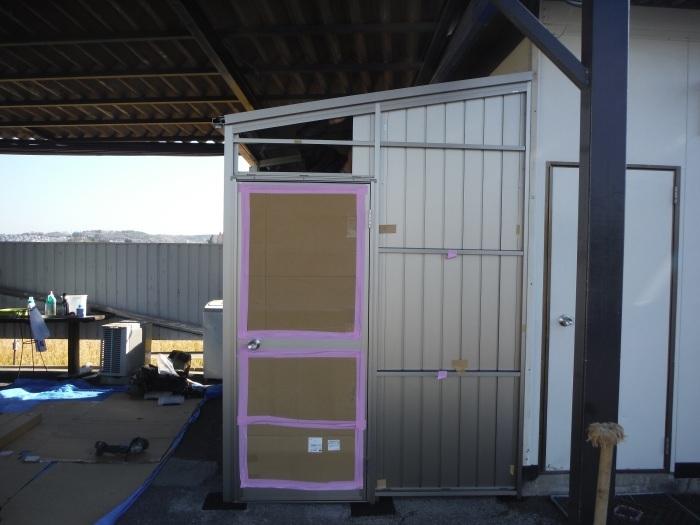 倉庫取付 ~ 壁取付け 。_d0165368_02453857.jpg