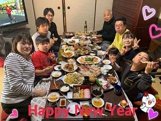 お正月の集まり_e0040673_21251829.jpg