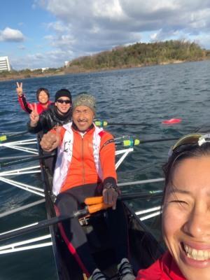 2020.01.05「競技用のボートって凄いなぁ〜〜!」_c0197974_03580604.jpg