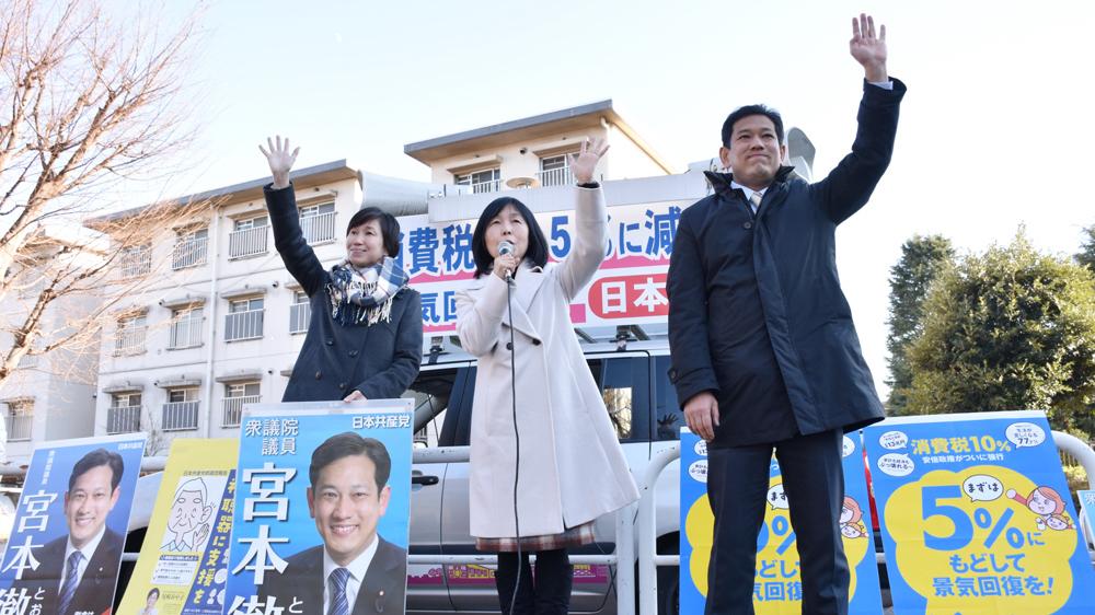 新春街頭スピーチ(上)_b0190576_22044676.jpg
