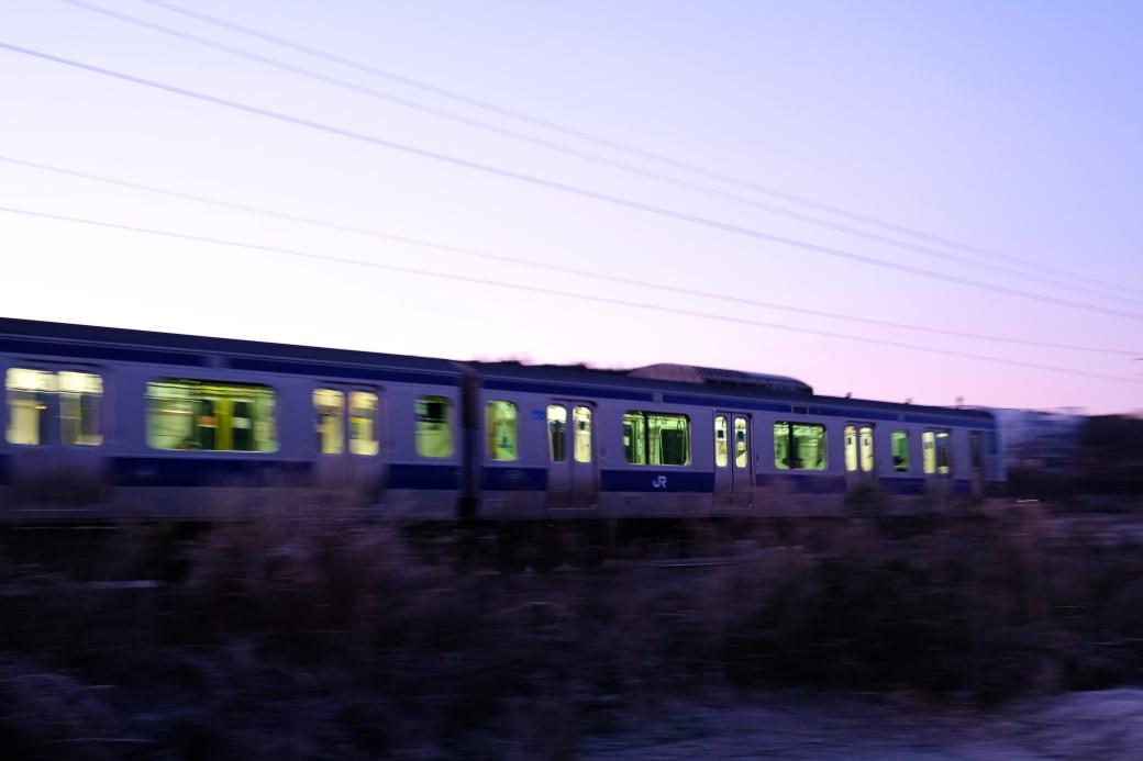たまたま早朝に!! Jr水戸線 2020・01・04_e0143883_19483582.jpg