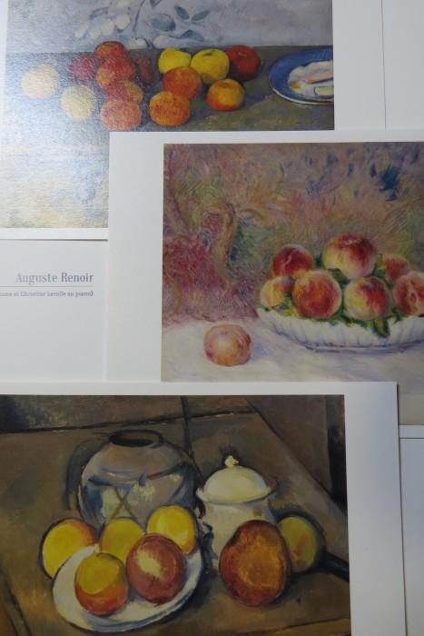 ポール・セザンヌのりんごとオーギュスト・ルノワールの桃_b0206085_05152632.jpg