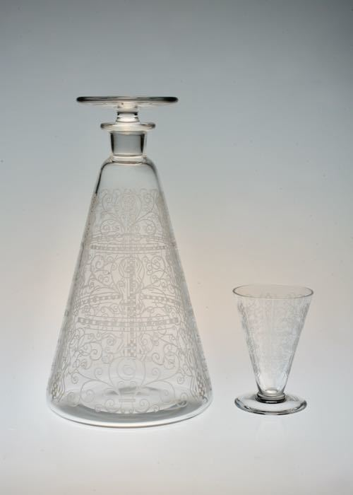 Baccarat LIDO Decanter & Liqueur glass_c0108595_22133457.jpeg