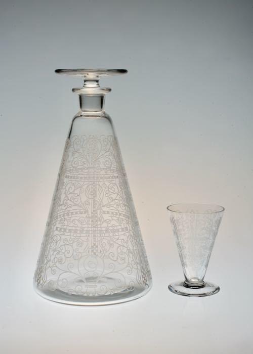 Baccarat LIDO Decanter & Liqueur glass_c0108595_22133457.jpeg