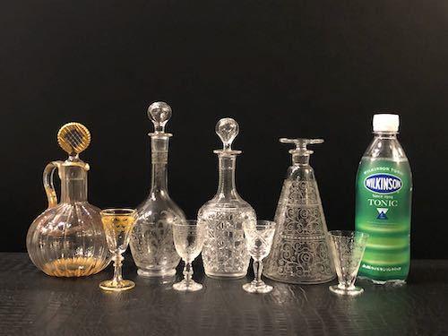 Baccarat LIDO Decanter & Liqueur glass_c0108595_22135428.jpeg