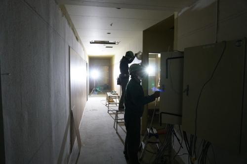 進捗状況「株式会社サンレー金沢紫雲閣2階改装工事」_d0095305_17524576.jpg