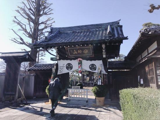 日蓮宗のお寺さんにて_e0303005_14193155.jpg