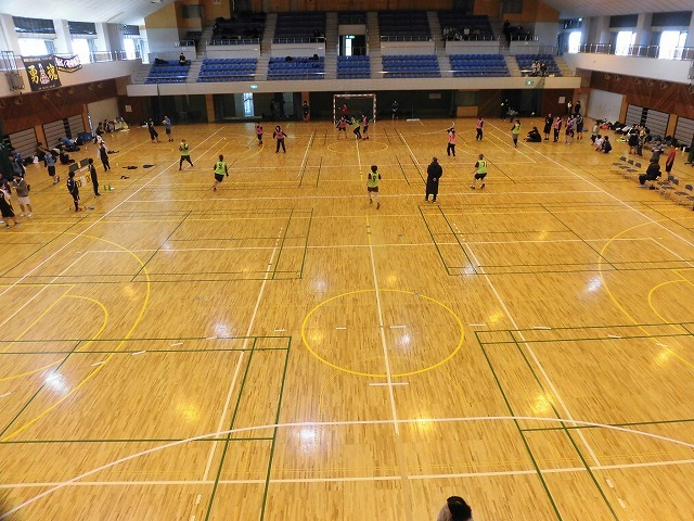 男女そろって県大会優勝を! 富士高ハンドボール部の2020年「初投げ」_f0141310_07534834.jpg