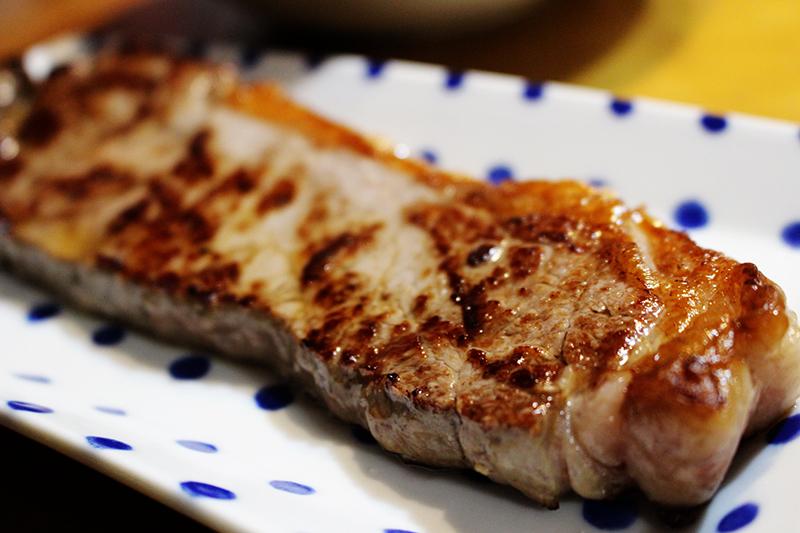 スリムスープと塩焼き牛肉    札幌 自転車屋。_a0139912_18181940.jpg
