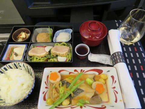 帰国。JALラウンジで朝食を。_d0019916_15151384.jpg