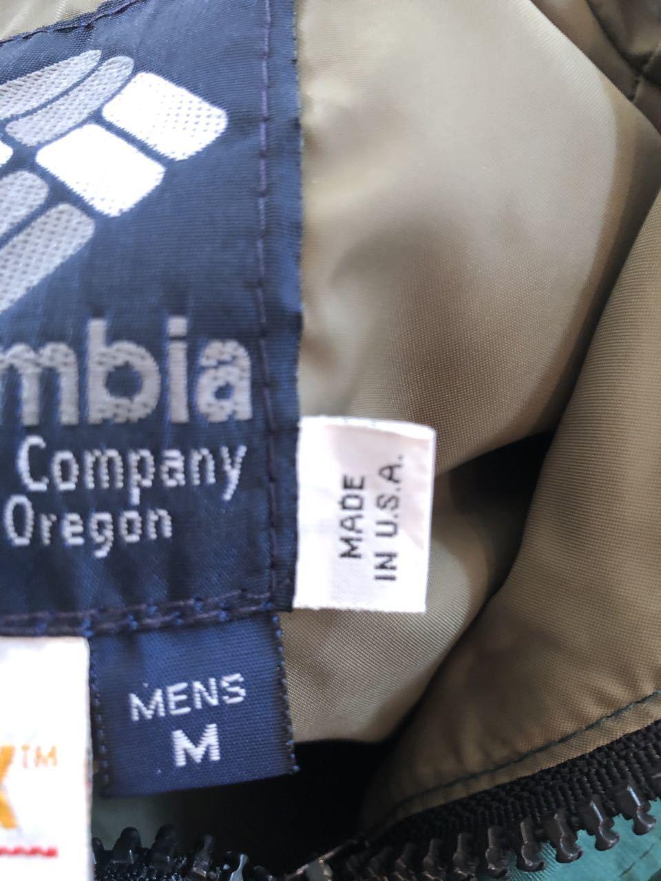 1月7日(火)入荷!Made in U.S.A  90s Columbia GORE-TEX  コロンビア ゴアテックス マウンテンパーカー_c0144020_14103394.jpg