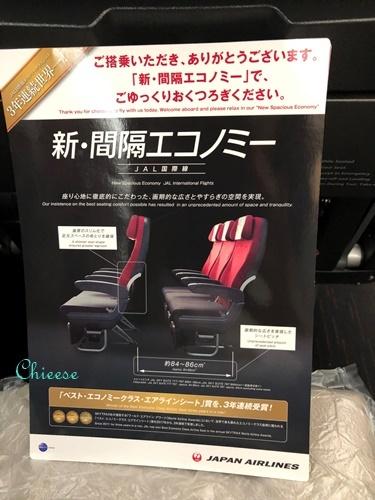 JAL ホノルル便 エコノミークラス 往路 2019_e0158121_11581478.jpg