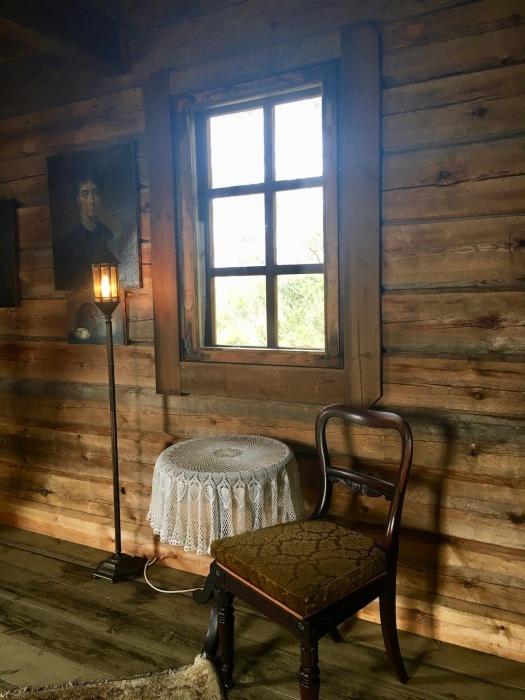 赤い空、グラスハウス、ログハウス内装/ Orange Sky, Glasshouse, Log Cabin Interior_e0310424_19170264.jpg