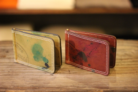 "VASCO ""PAINT LEATHER MONEY CLIP\"" ご紹介_f0191324_08220274.jpg"