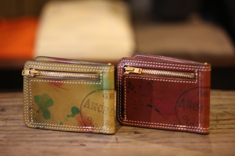 "VASCO ""PAINT LEATHER MONEY CLIP\"" ご紹介_f0191324_08225881.jpg"