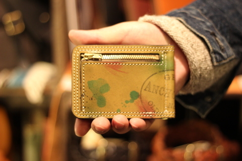 "VASCO ""PAINT LEATHER MONEY CLIP\"" ご紹介_f0191324_08234063.jpg"