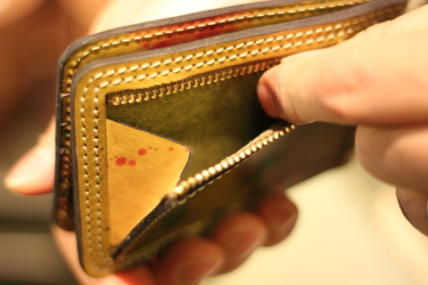"VASCO ""PAINT LEATHER MONEY CLIP\"" ご紹介_f0191324_08234927.jpg"
