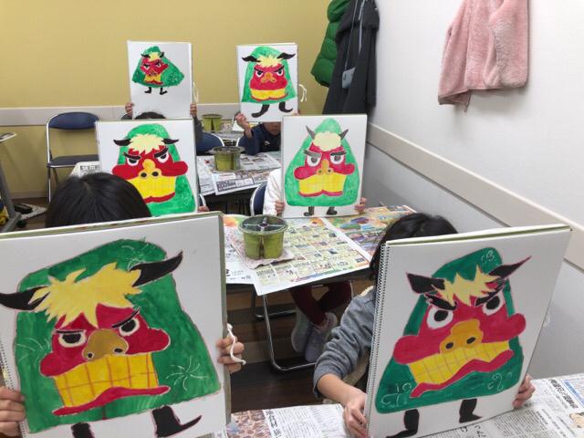 新年最初の教室は友遊カルチャー、日曜こども絵画教室!!_f0373324_11002795.jpg