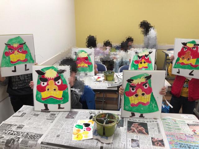 新年最初の教室は友遊カルチャー、日曜こども絵画教室!!_f0373324_11002965.jpg