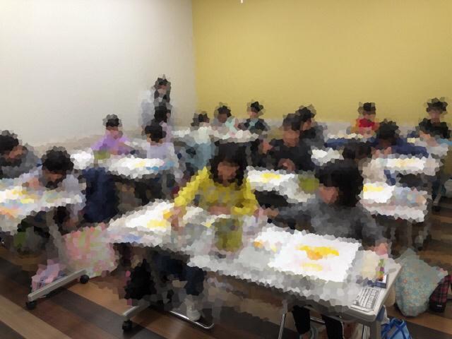 新年最初の教室は友遊カルチャー、日曜こども絵画教室!!_f0373324_11003079.jpg