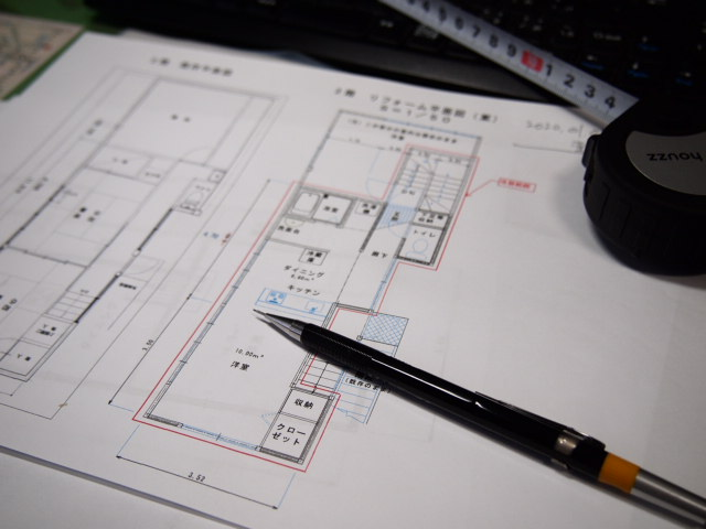 変更図面は足立区T様邸リフォーム工事。_a0214329_1512594.jpg