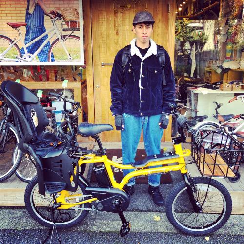 EZ! パナソニックez 電動自転車特集『バイシクルファミリー』Yepp ビッケ ステップクルーズ 電動自転車 おしゃれ自転車 チャイルドシート bobikeone BEAMS bp02 イーゼット_b0212032_17552913.jpeg