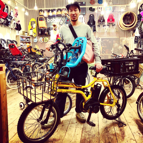 EZ! パナソニックez 電動自転車特集『バイシクルファミリー』Yepp ビッケ ステップクルーズ 電動自転車 おしゃれ自転車 チャイルドシート bobikeone BEAMS bp02 イーゼット_b0212032_17584485.jpeg
