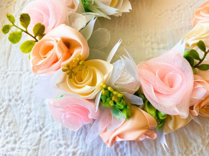 【Pink Wedding Bouquet Lei ピンク ウェディング ブーケレイ】_c0196240_17284319.jpeg