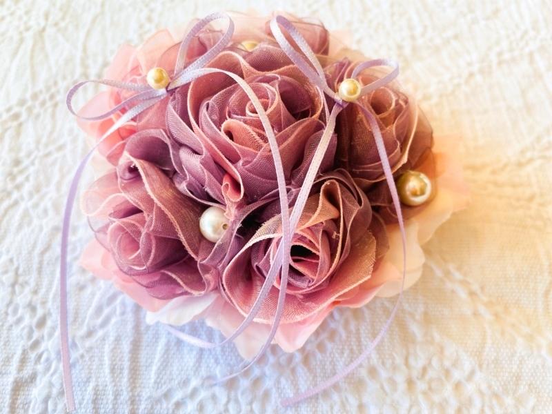 【Sweet Flower Ring Pillow スィート フラワー リングピロー】_c0196240_17433623.jpeg