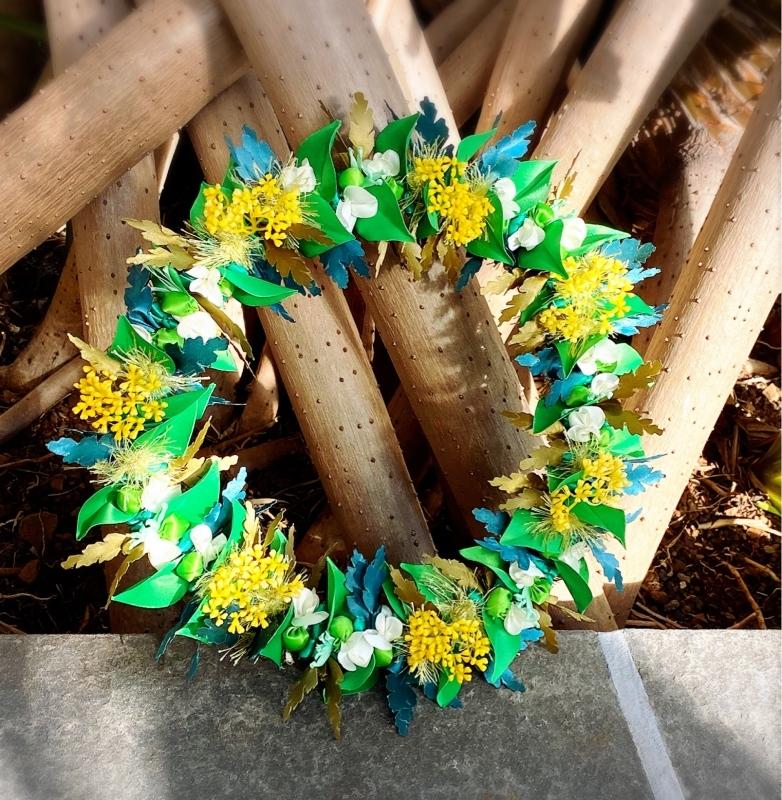 【Wild Flower Wreath ワイルド フラワー リース】_c0196240_18015558.jpeg