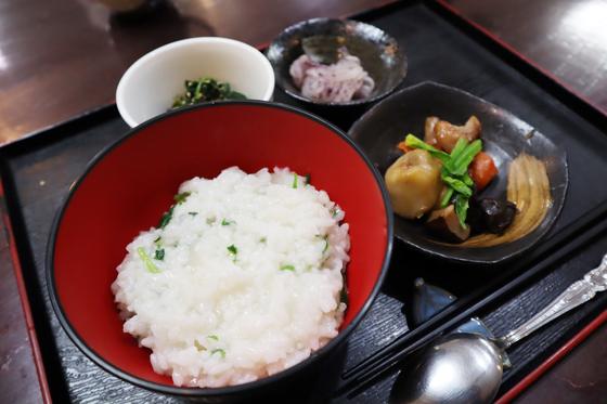 お食事 ~ 七草粥御膳 ~_e0222340_1547099.jpg