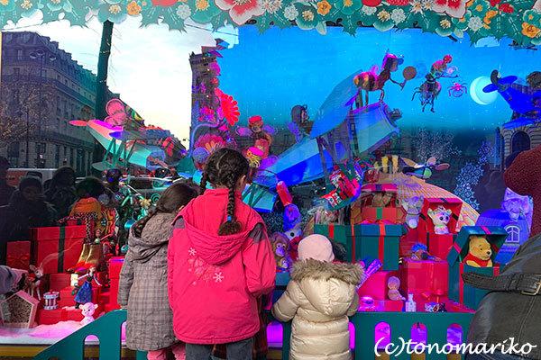 ギャラリーラファイエットのクリスマスウィンドー_c0024345_23223570.jpg