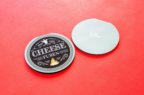 チーズの型抜き付箋_d0095746_16455528.jpg