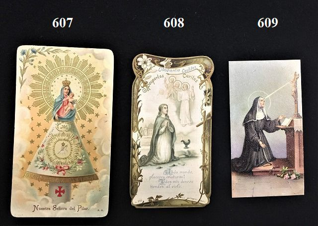 ホーリーカード(聖人のカード、エスタンパ)_f0112550_03444221.jpg