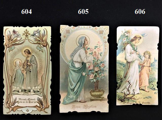 ホーリーカード(聖人のカード、エスタンパ)_f0112550_03444300.jpg